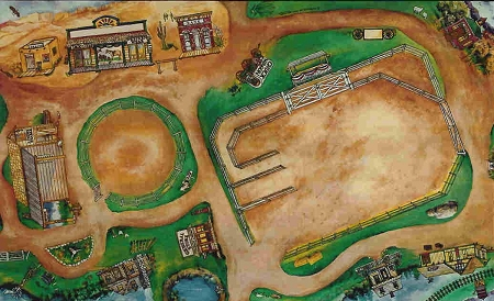 Horseplay Rug Western Rodeo Play Mat Breyer Safariland