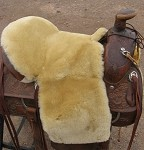 EXTENDED Deluxe Western Trail & Endurance Riding Saddle Seat Cushion