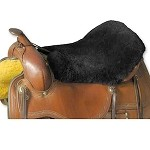 DISCOUNTED Western, Trail & Endurance Saddle Seat Cushion USA made Merino Sheepskin by JMS Products DISCOUNTED