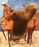Lady Godiva Western Saddle Full Cover Cushion 27